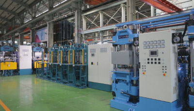 Rubber and Silicon Compression Molding Machine