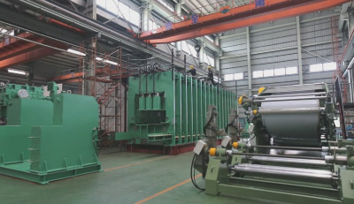 rubber continuous vulcanizing machine